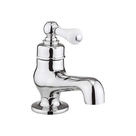 Crosswater Belgravia Mini Basin Mixer Tap (Lever, Chrome).