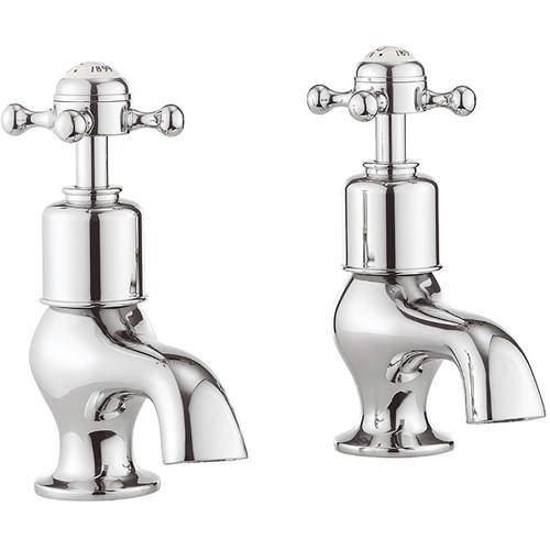 Crosswater Belgravia Bath Taps (Crosshead, Chrome).