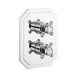 Crosswater Belgravia Crossbox 1 Outlet Shower Valve (Chrome).