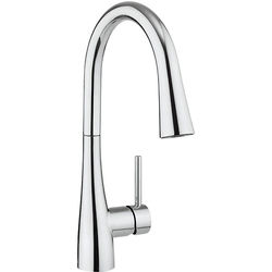 Crosswater Kitchen Taps Cook Single Lever Kitchen Tap With Flexi Spray.