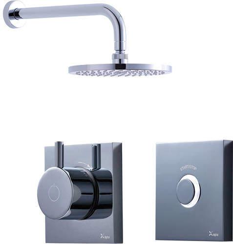 Crosswater Kai Digital Showers Digital Shower Pack 01 With Remote (LP).
