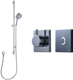 Crosswater Kai Digital Showers Digital Shower Pack 03 With Remote (LP).