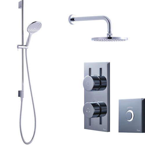 Crosswater Kai Digital Showers Digital Shower Pack 04 With Remote (HP).