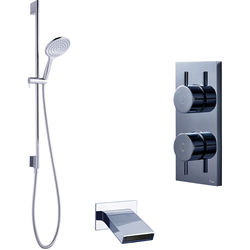 Crosswater Kai Digital Showers Digital Shower With Bath Spout U0026 Kit (HP).