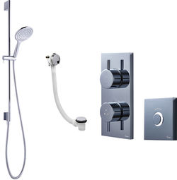 Crosswater Kai Digital Showers Digital Shower Pack 08 With Remote (LP).