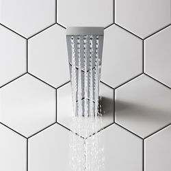 Crosswater Zion Wall Mounted Shower Head (Chrome).