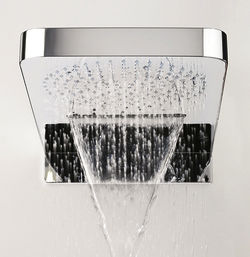 Crosswater Showers Multifunction Shower Head With Waterfall 270x598mm.