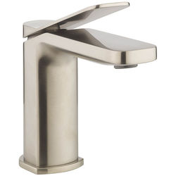 Crosswater Glide II Basin Mixer Tap (Brushed Stainless Steel Effect).