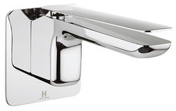 Crosswater KH Zero 2 Wall Mounted Basin Mixer Tap With Lever Handle.