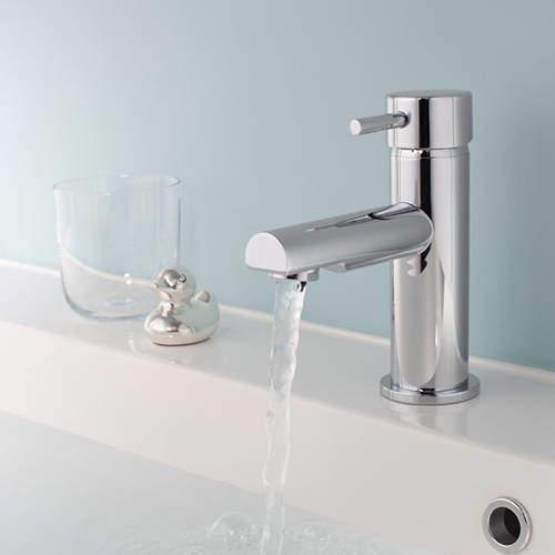 Crosswater Kai Digital Showers Basin Mixer Tap (Chrome).