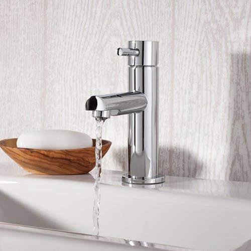 Crosswater Kai Digital Showers Mini Basin Mixer Tap (Chrome).