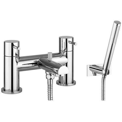 Crosswater Kai Digital Showers Bath Shower Mixer Tap With Kit (Chrome).
