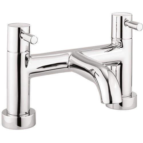Crosswater Fusion Bath Filler Tap (Chrome).