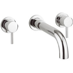Crosswater Fusion Wall Mounted Bath Filler Tap (Chrome).