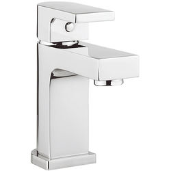 Crosswater Planet Mini Basin Mixer Tap With Waste (Chrome).