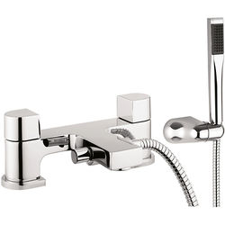 Crosswater Planet Bath Shower Mixer Tap With Kit (Chrome).