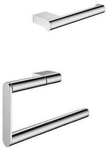 Crosswater Mike Pro Wall Mounted Bathroom Accessories Set (Pack A4).