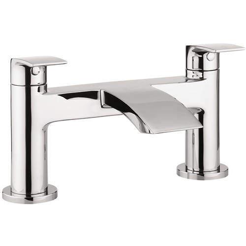 Crosswater Flow Bath Filler Tap (Chrome).