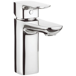 Crosswater Serene Basin Mixer Tap With Waste (Chrome).