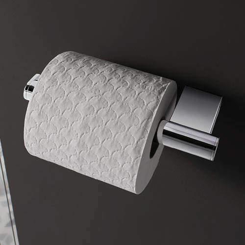 Crosswater Mike Pro Toilet Roll Holder (Chrome).