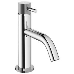 Crosswater MPRO Basin Mixer Tap With Knurled Handle (Chrome).