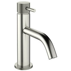 Crosswater MPRO Basin Mixer Tap With Knurled Handle (S Steel).
