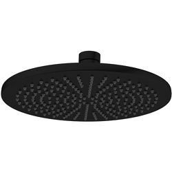 Crosswater MPRO Round Shower Head 300mm (Matt Black).