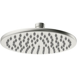 Crosswater MPRO Round Shower Head 300mm (Brushed Stainless Steel).