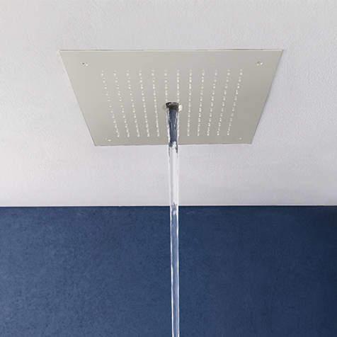 Crosswater MPRO Stream Shower Head (Matt White).