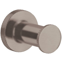 Crosswater UNION Robe Hook (Brushed Nickel).
