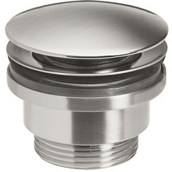 Crosswater UNION Click Clack Basin Waste (Brushed Nickel).