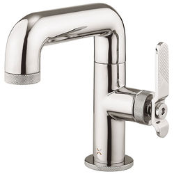 Crosswater UNION Basin Mixer Tap With Lever Handle (Chrome).