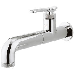 Crosswater UNION Single Hole Wall Mounted Basin Mixer Tap (Chrome).