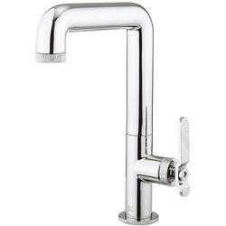 Crosswater UNION Tall Basin Mixer Tap With Lever Handle (Chrome).
