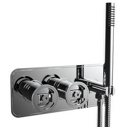 Crosswater UNION Shower Valve With Handset (2-Way, Chrome).