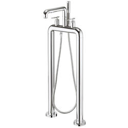 Crosswater UNION Free Standing BSM Tap With Lever Handles (Chrome).