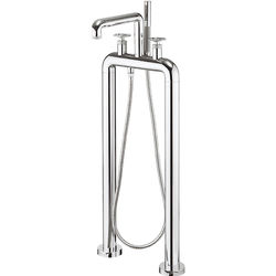 Crosswater UNION Free Standing BSM Tap With Wheel Handles (Chrome).