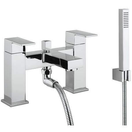 Crosswater Verge Bath Shower Mixer Tap & Kit (Chrome).