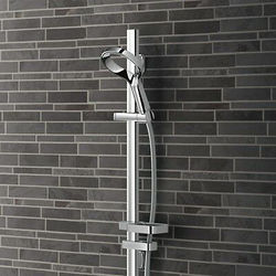 Methven Aurajet Aio Rail Shower (Chrome).