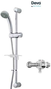 Deva Azure Exposed Thermostatic Shower Valve With Single Mode Kit.