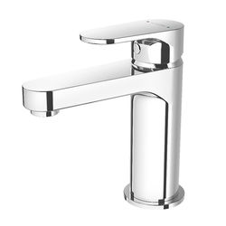 Methven Breeze Basin Mixer Tap With Clicker Waste (Chrome).