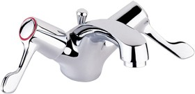 "Deva Lever Action 3"" Lever Mono Basin Mixer Tap With Pop Up Waste."