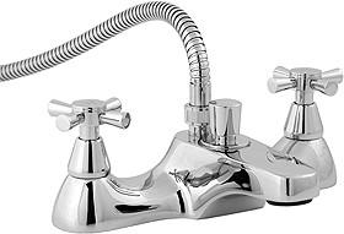 Deva Milan Bath Shower Mixer Tap With Shower Kit.
