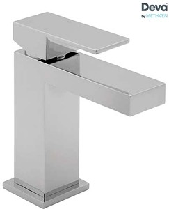 Deva Savvi Mono Basin Mixer Tap With Press Top Waste (Chrome).