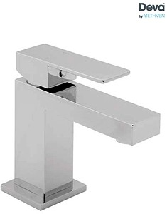 Deva Savvi Mini Mono Basin Mixer Tap (Chrome).