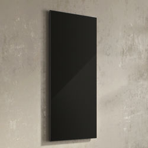 Eucotherm Infrared Radiators Black Glass Panel 600x900mm (600w).