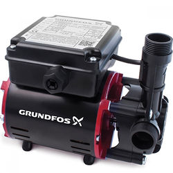 Grundfos Pumps SSR2-2.0C Single Ended Shower Pump (2.0 Bar, Positive).