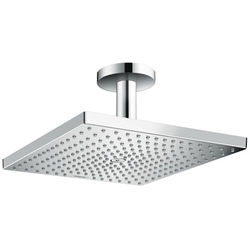 Hansgrohe Raindance E 300 1 Jet Shower Head & Ceiling Arm (300x300mm).