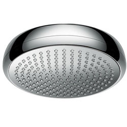 Hansgrohe Crometta 180 1 Jet EcoSmart Shower Head (180mm, Chrome).