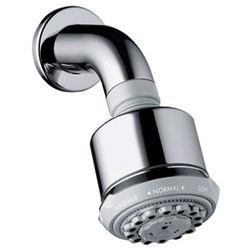 Hansgrohe Clubmaster 3 Jet Shower Head With Wall Mounting Arm (85mm).